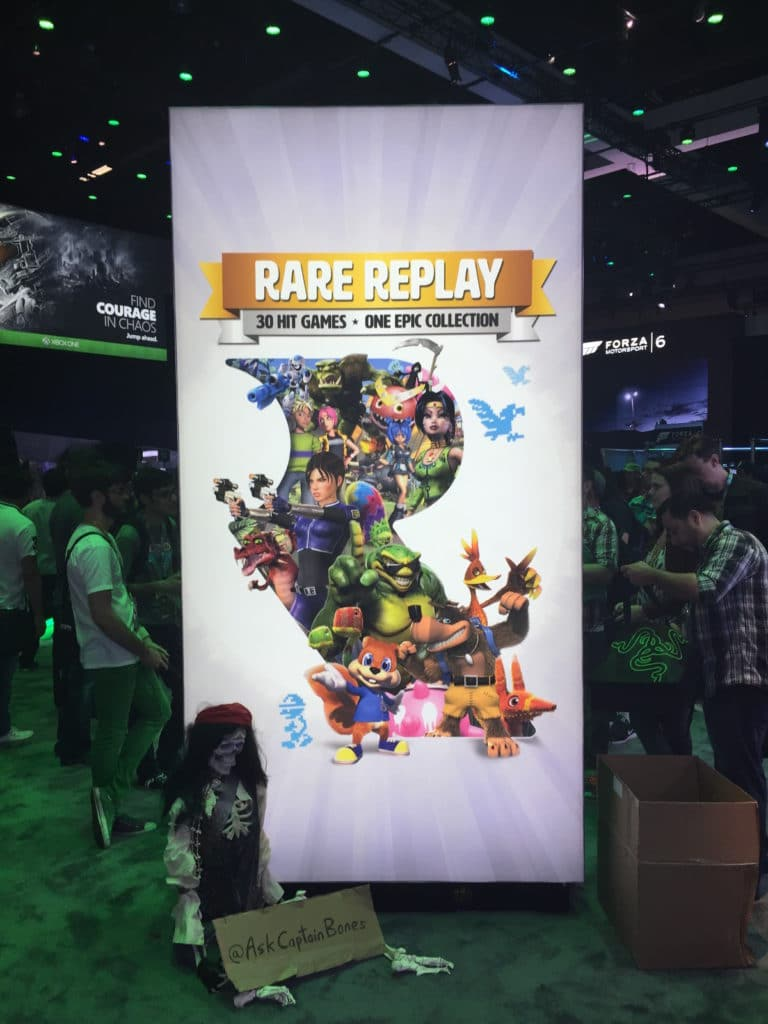 rare replay booth