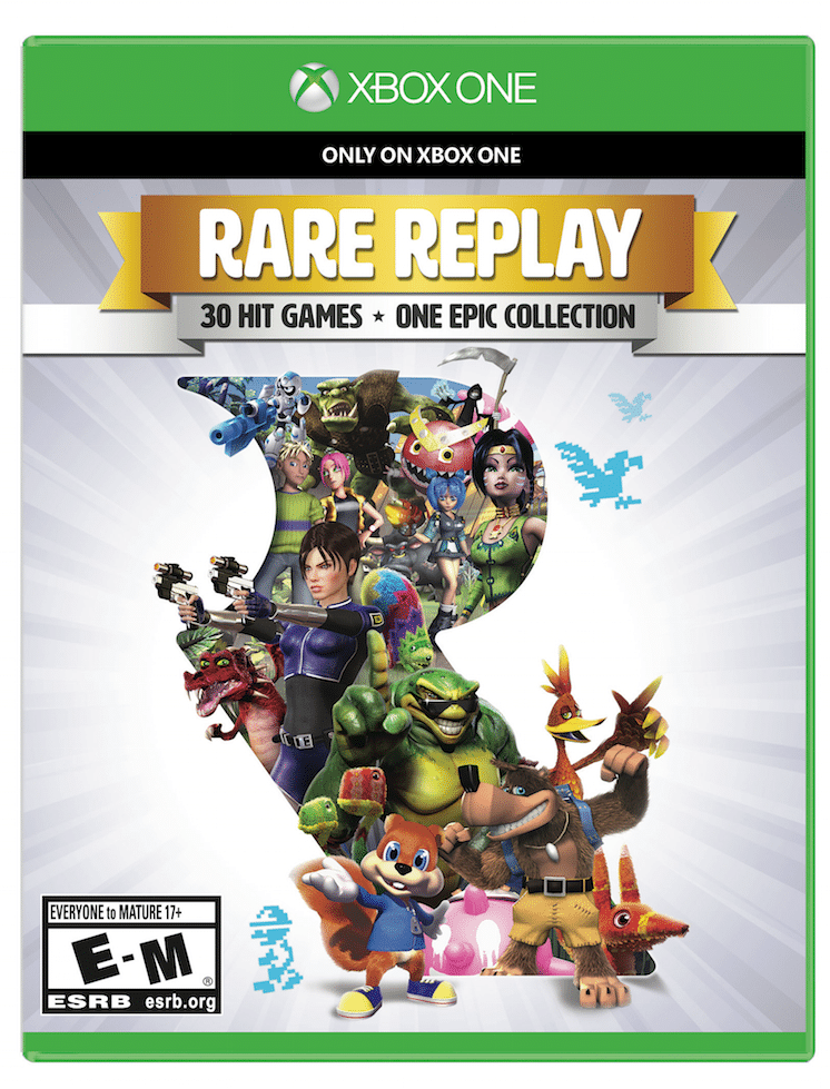 rare replay cover