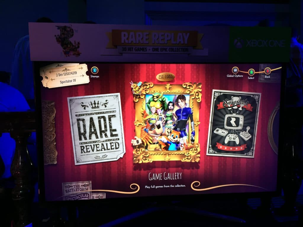 rare replay xbox event