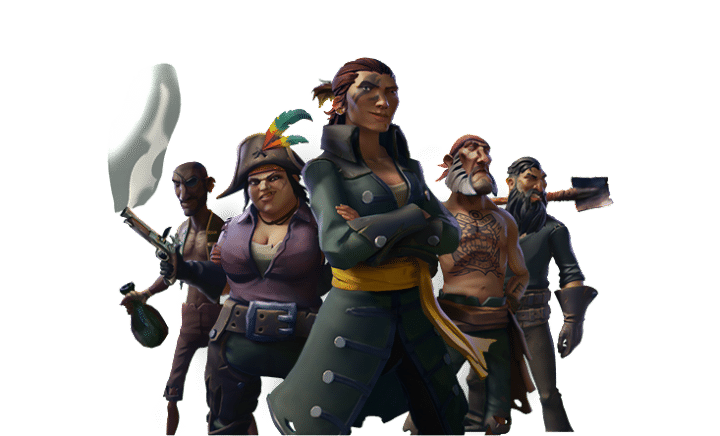 sea of thieves characters