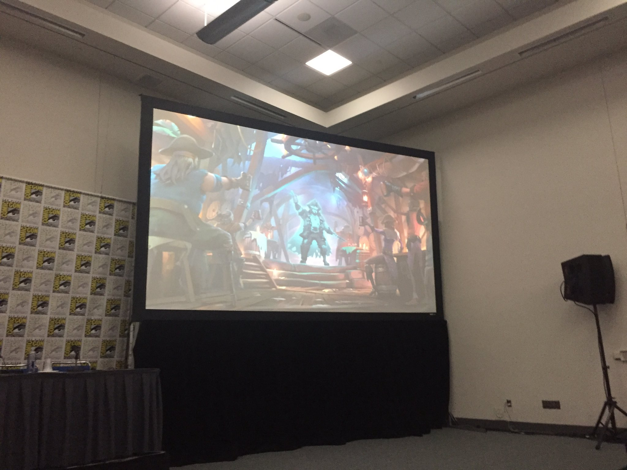 SDCC - Sea of Thieves Panel Text Highlights   Rare Thief