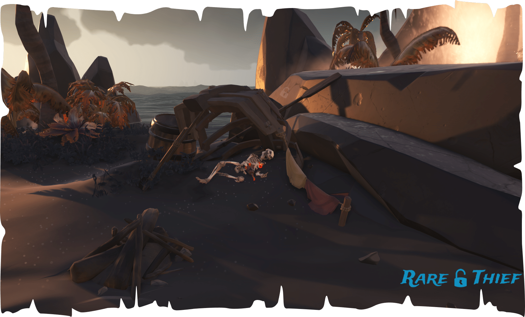 Sea Of Thieves - Forsaken Shores Guide | Rare Thief