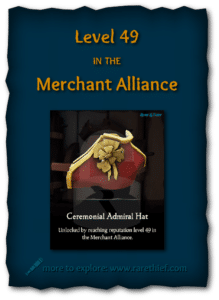 Sea of Thieves Cosmetics Ceremonial Admiral Hat