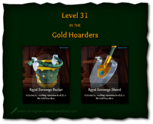 Sea of Thieves Cosmetics Royal Sovereign Bucket and Shovel