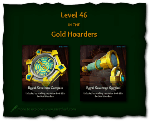 Sea of Thieves Cosmetics Royal Sovereign Compass and Spyglass