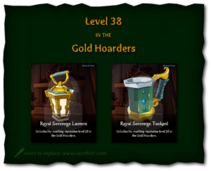 Sea of Thieves Cosmetics Royal Sovereign Lantern and Tankard