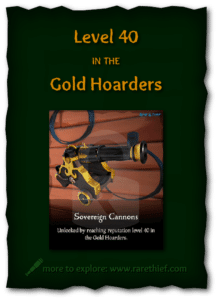 Sea of Thieves Cosmetics Sovereign Cannons