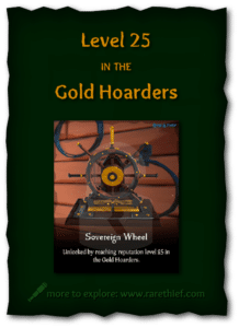 Sea of Thieves Cosmetics Sovereign Wheel
