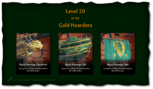 Sea of Thieves Ship Cosmetics Royal Sovereign Figurehead, Hull, and Sails