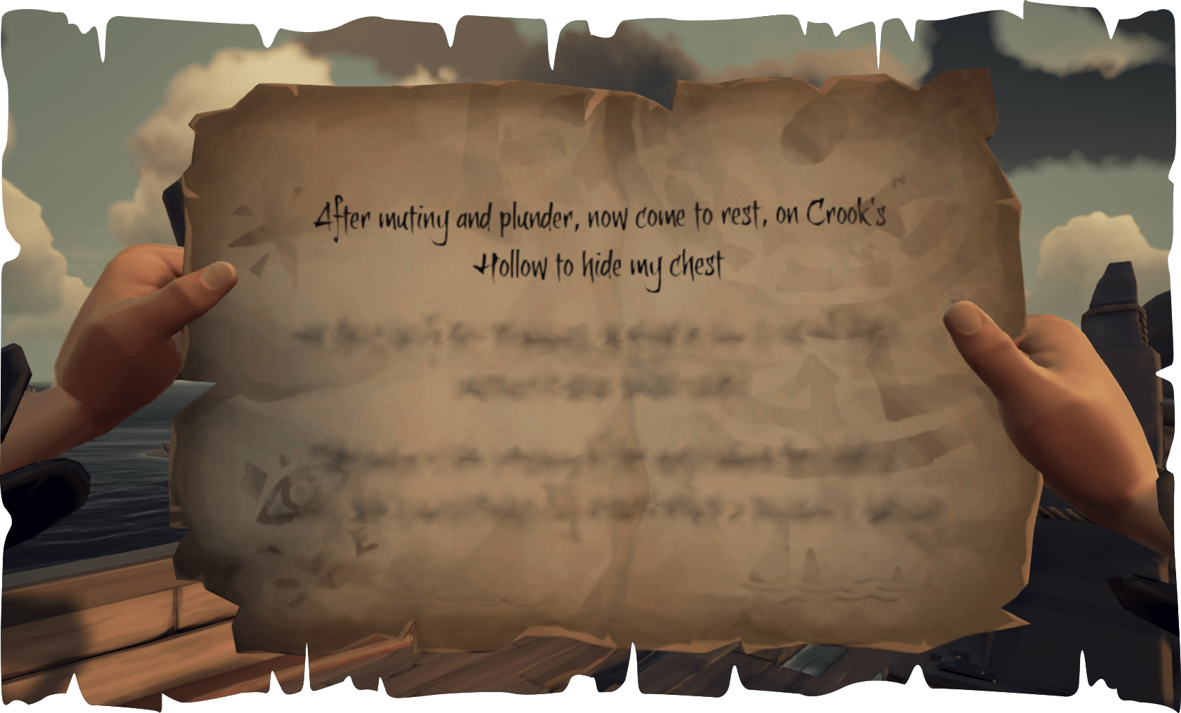 Reaper's Run of Shipwreck Bay Crook's Hollow Riddle