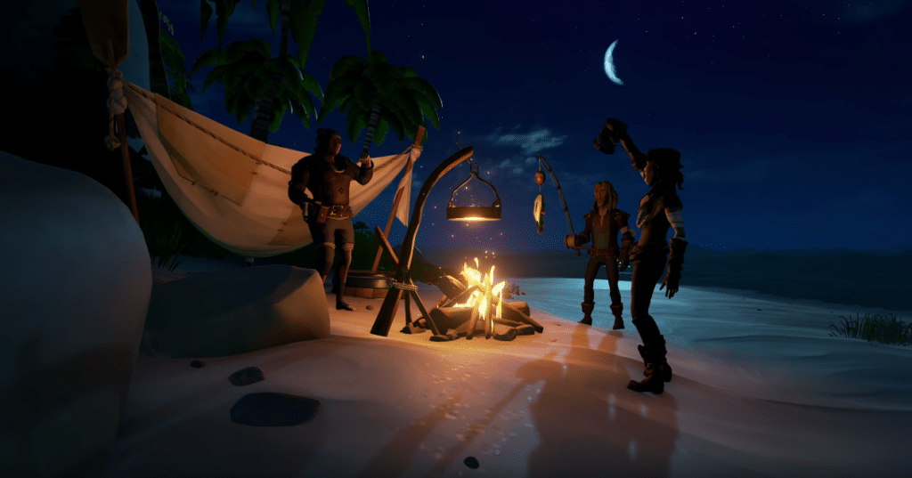 Sea of Thieves Campfire Cooking