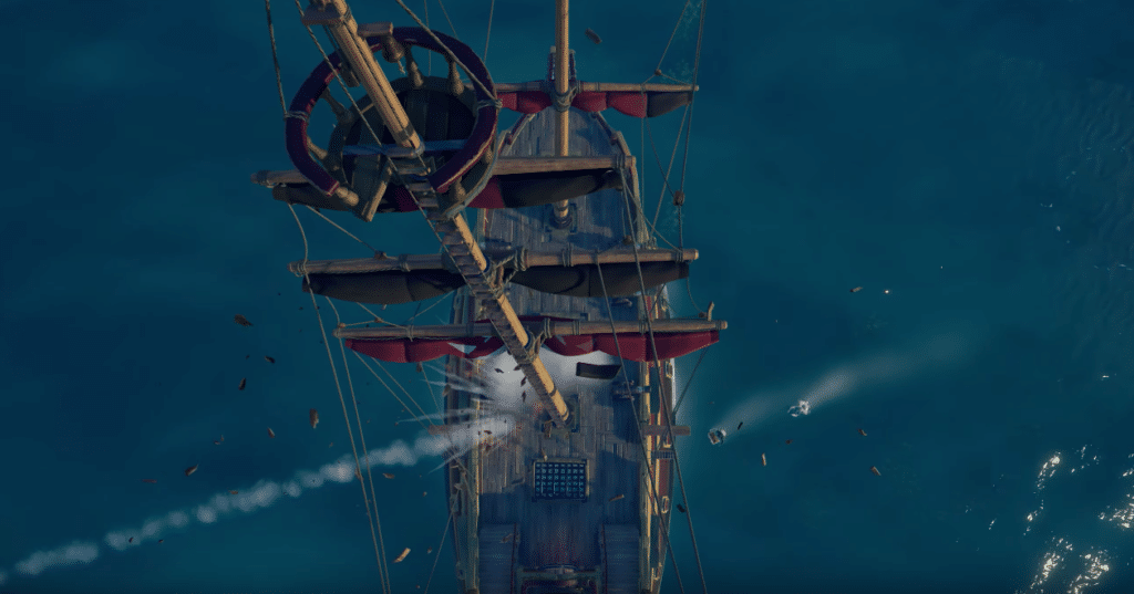 SoT Ship Damage
