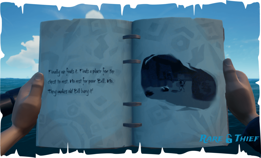 The Skeleton Chest at Crook's Hollow, Hint 2