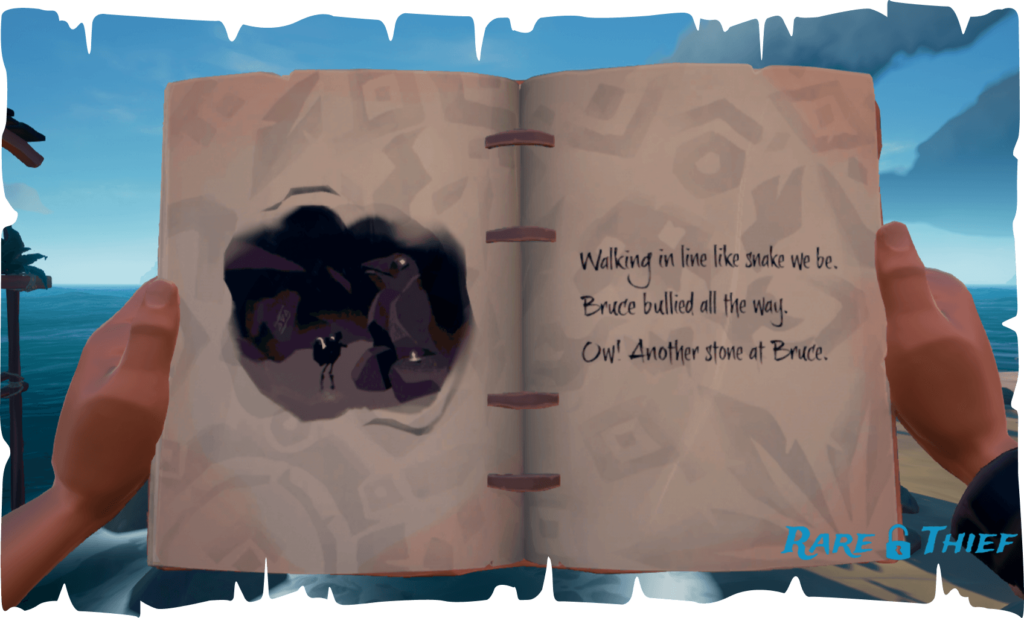 The Skeleton Chest at Plunder Valley, Hint 1