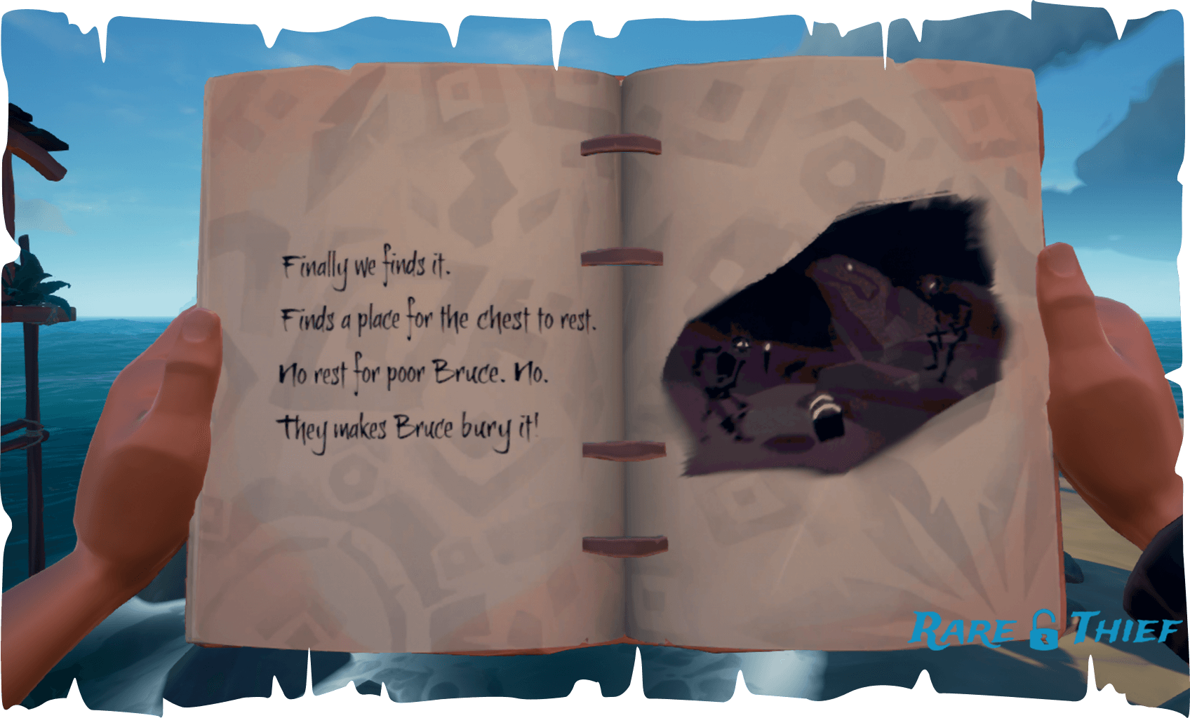 The Skeleton Chest at Plunder Valley, Hint 2