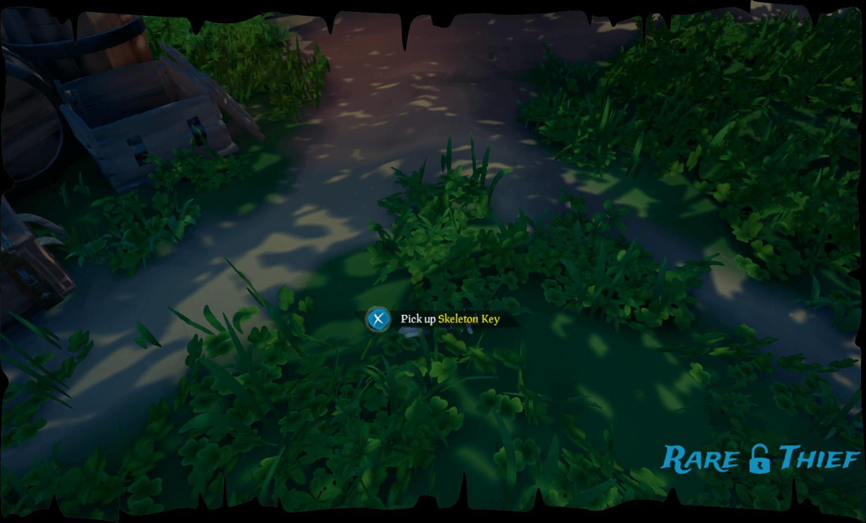 Snake Island Skeleton Key