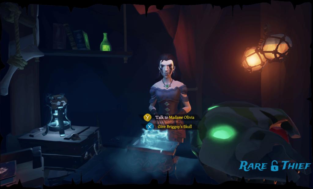 Return Briggsy's Skull