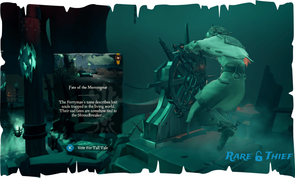 Sea of Thieves – The Fate of the Morningstar Tall Tale Guide | Rare