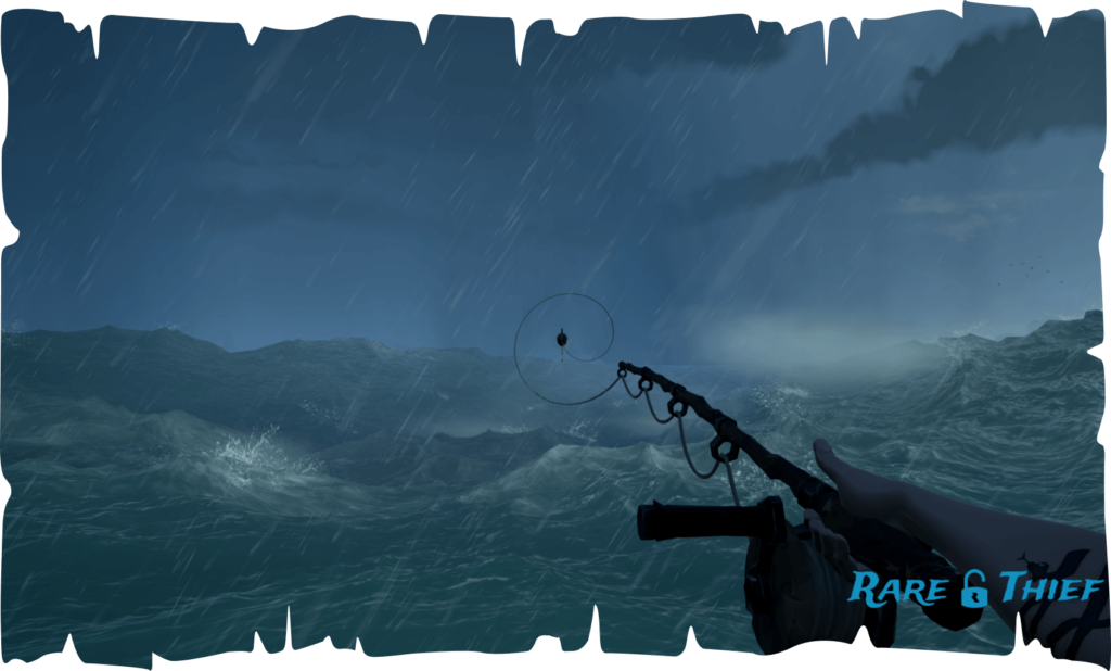 Sea of Thieves Fishing in a Storm