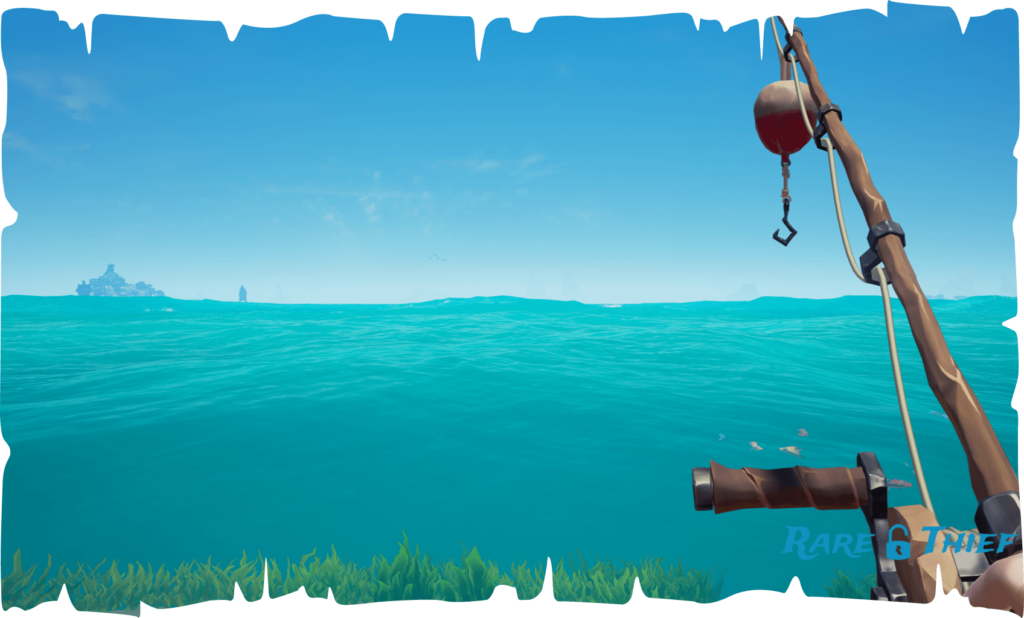 Sea of Thieves Equip Fishing Rod