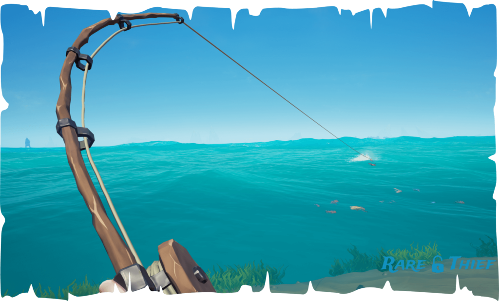 Sea of Thieves Fishing Guide Pull Left