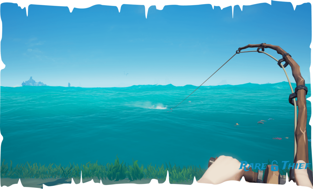 Sea of Thieves Fishing Guide Pull Right