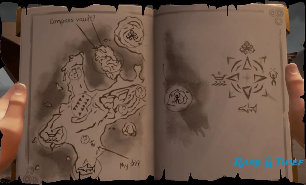 Tribute Peak Map