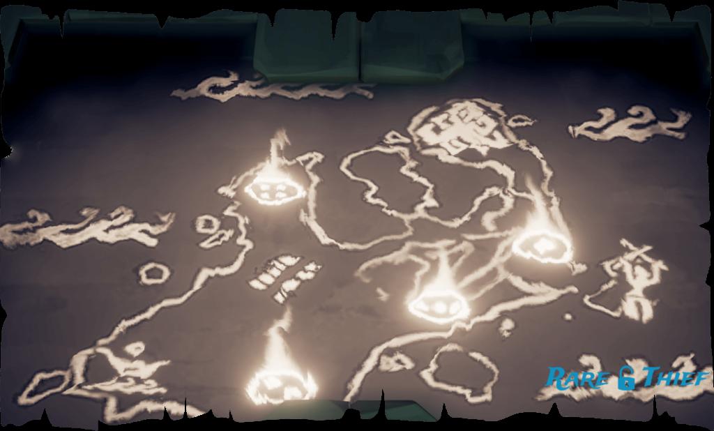 West Vault Altar Map