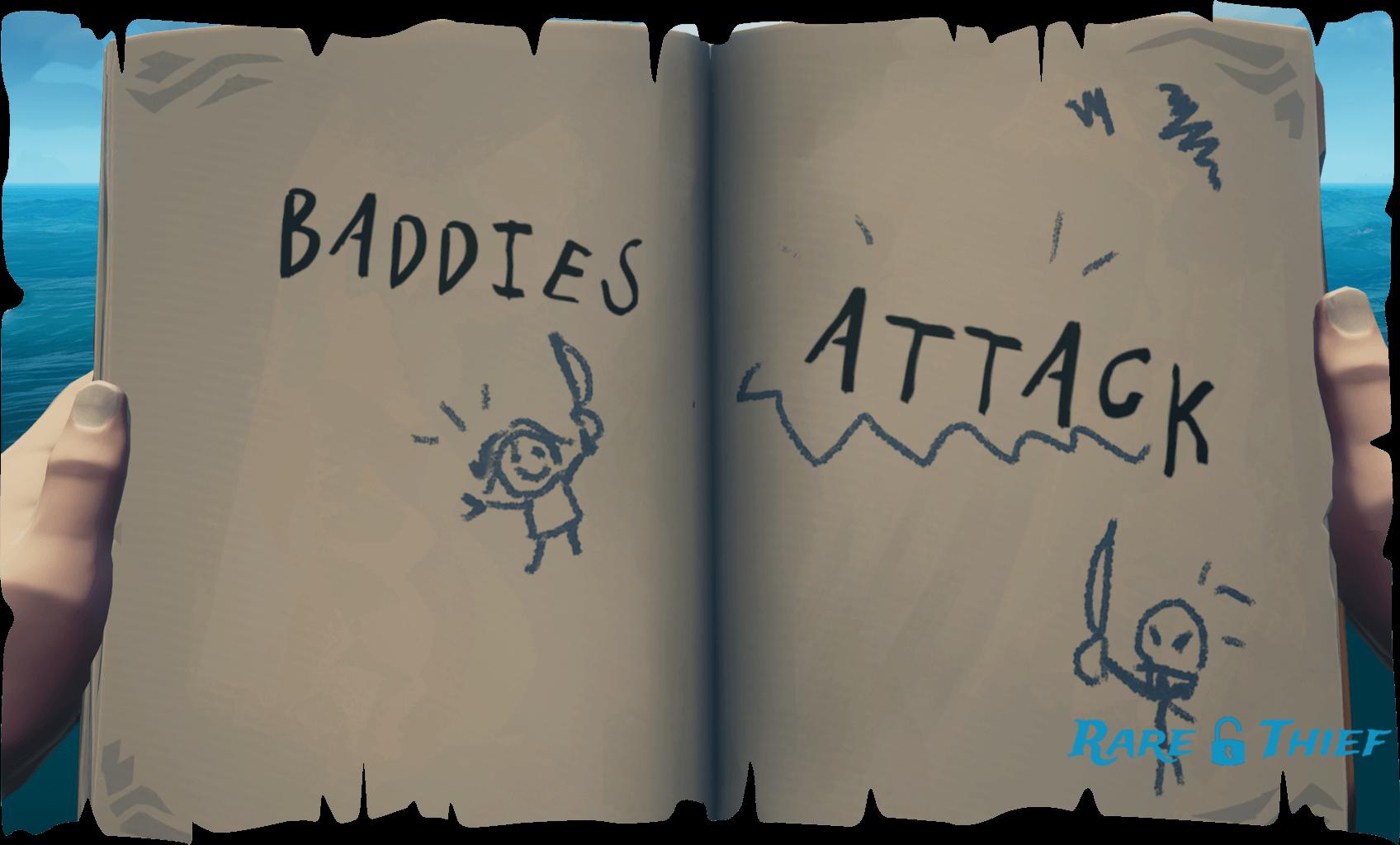 Baddies Attack
