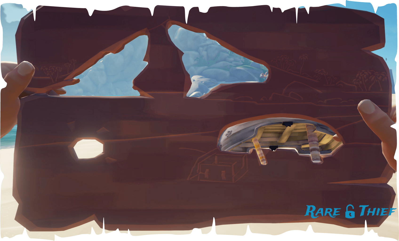 Smuggler's Bay Carved Plank