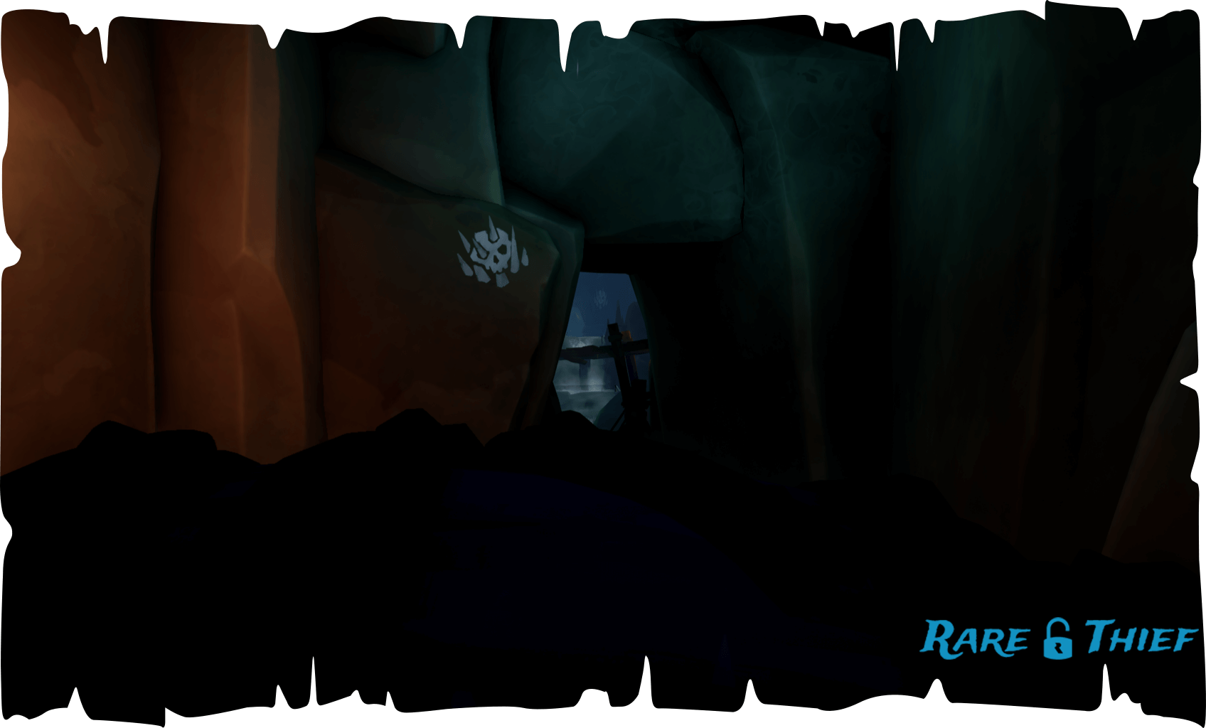 Sailor's Bounty Cave Path