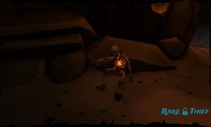 Skeleton Point Flame