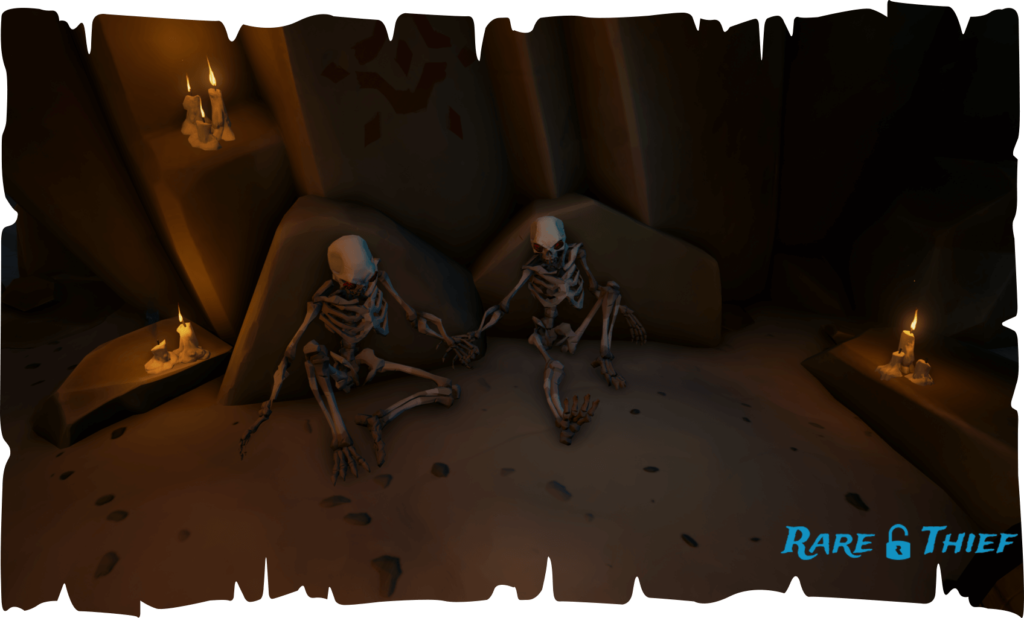 Skeletons Holding Hands