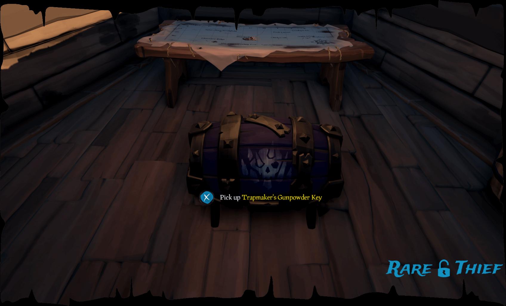 Trapmaker's Gunpowder Key