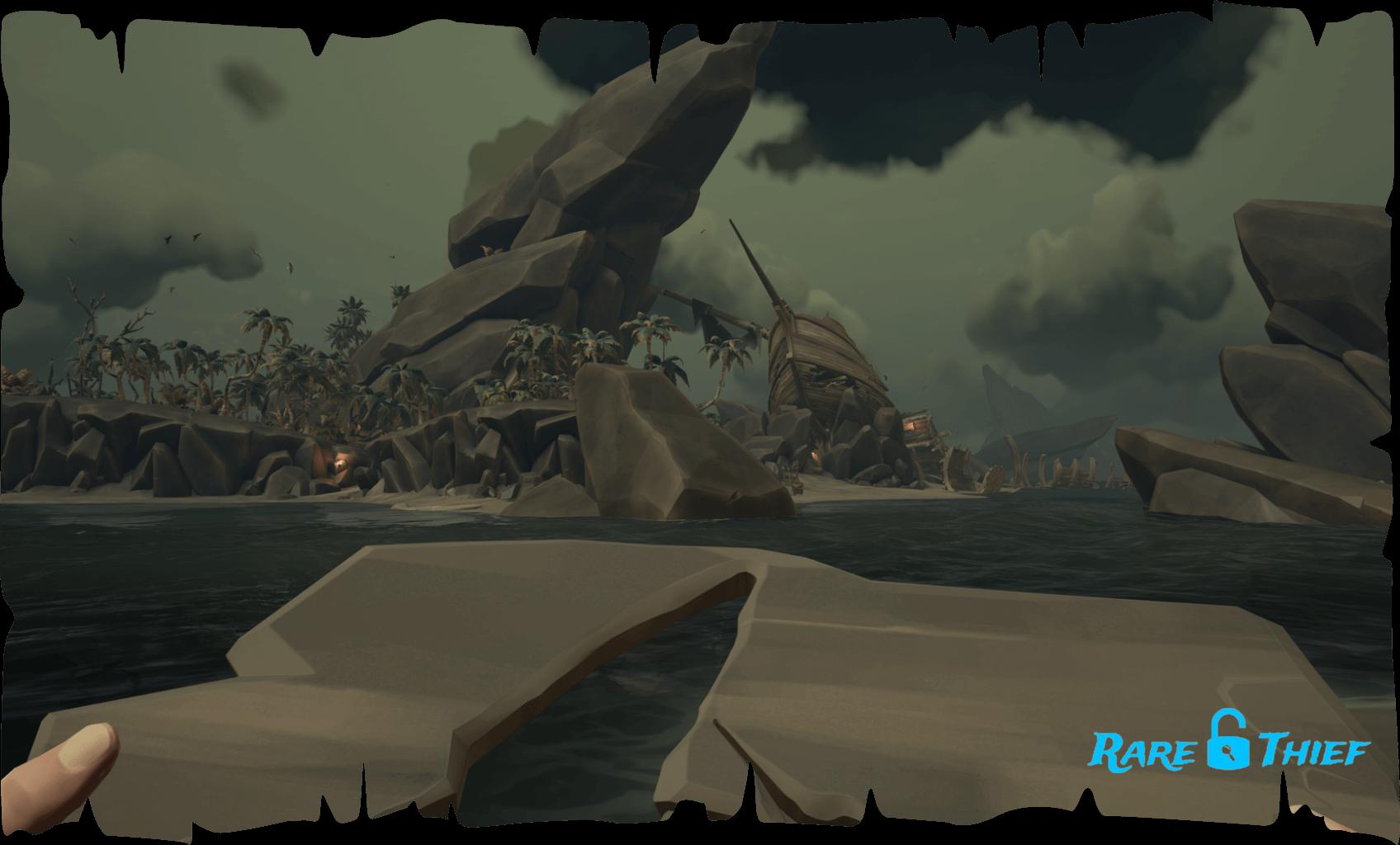 Shipwreck Bay Carved Plank