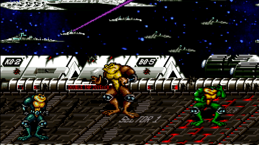 Battletoads 1994 Arcade Animation