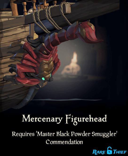 Sea of Thieves Mercenary Figurehead