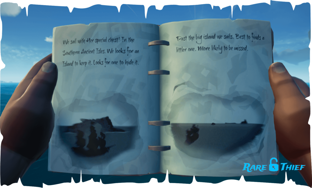 The Skeleton Chest at Lookout Point, Hint 1