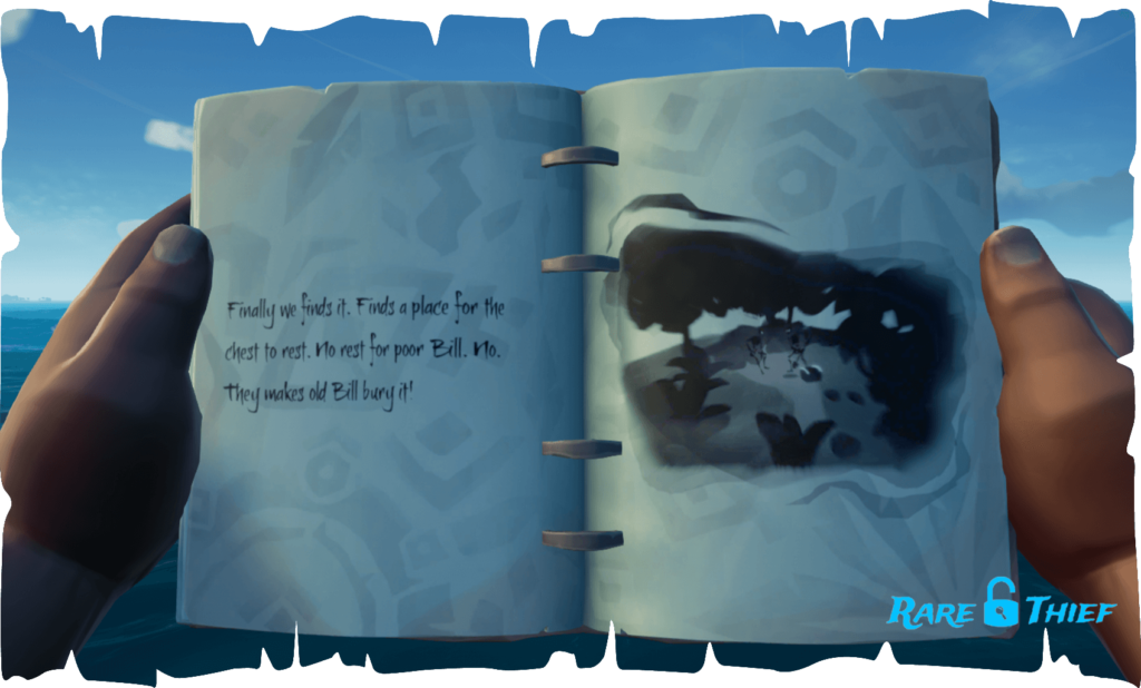 The Skeleton Chest at Lookout Point, Hint 3