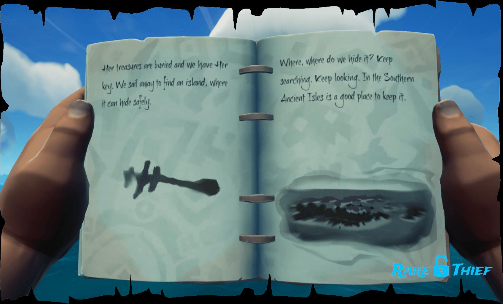 Cursed Rogue Shark Bait Cove Skeleton Key
