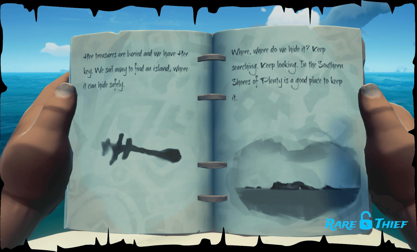 Skeleton Key at Wanderer's Refuge, Hint 1