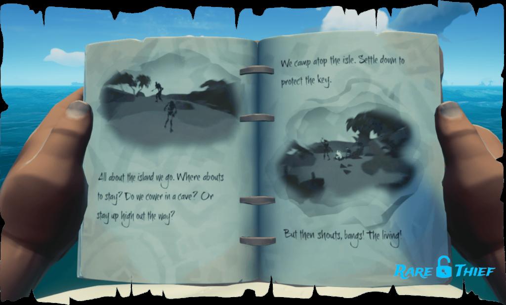 Skeleton Key at Wanderer's Refuge, Hint 2