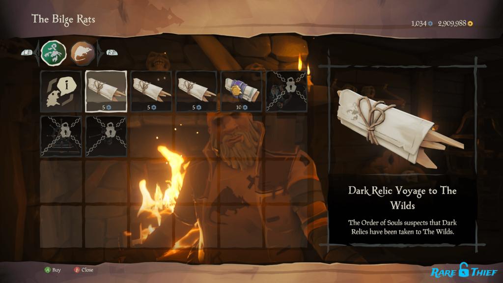 Dark Relic Voyage to The WIlds