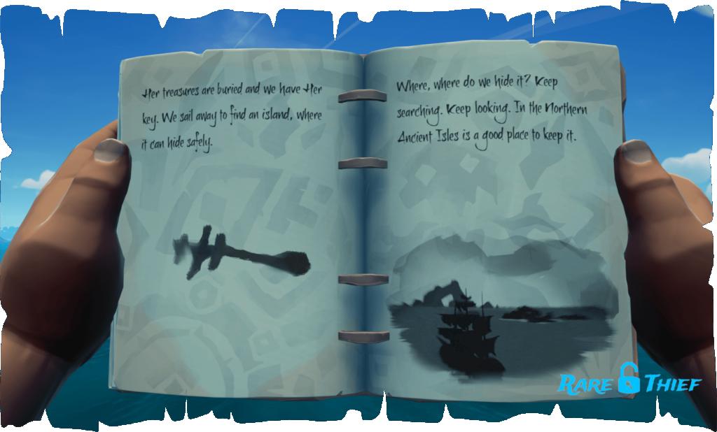 Skeleton Key on Castaway Isle, Hint 1