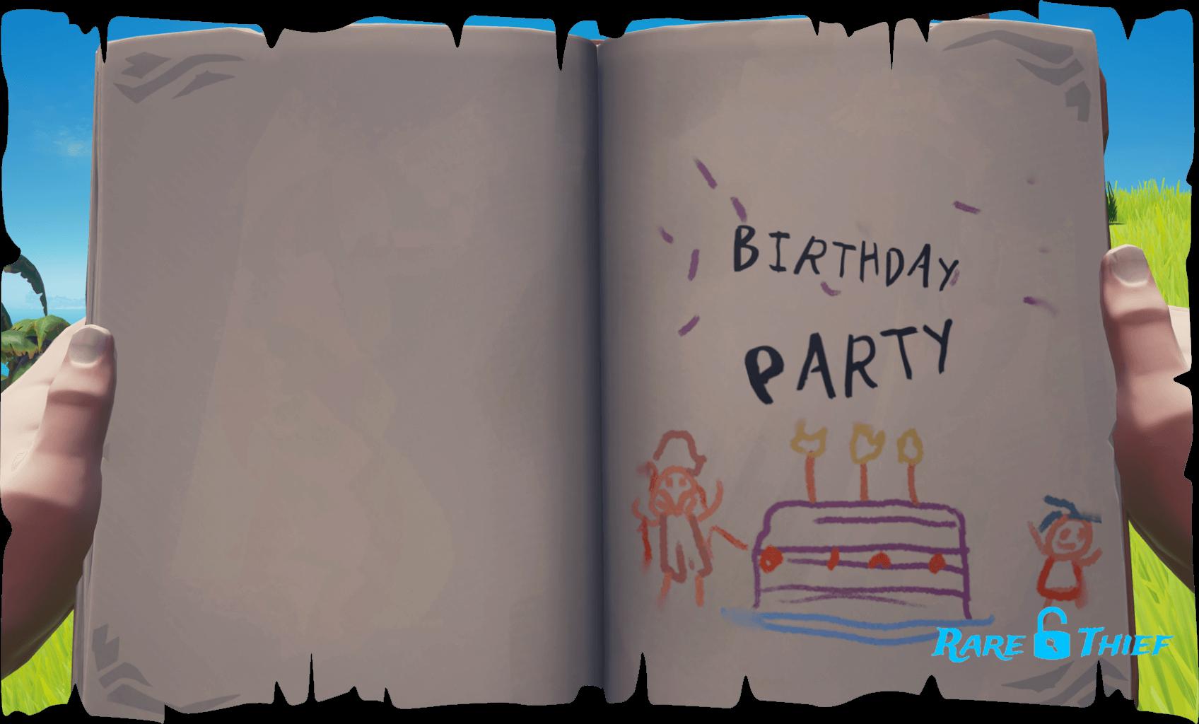Legendary Storyteller Birthday Party