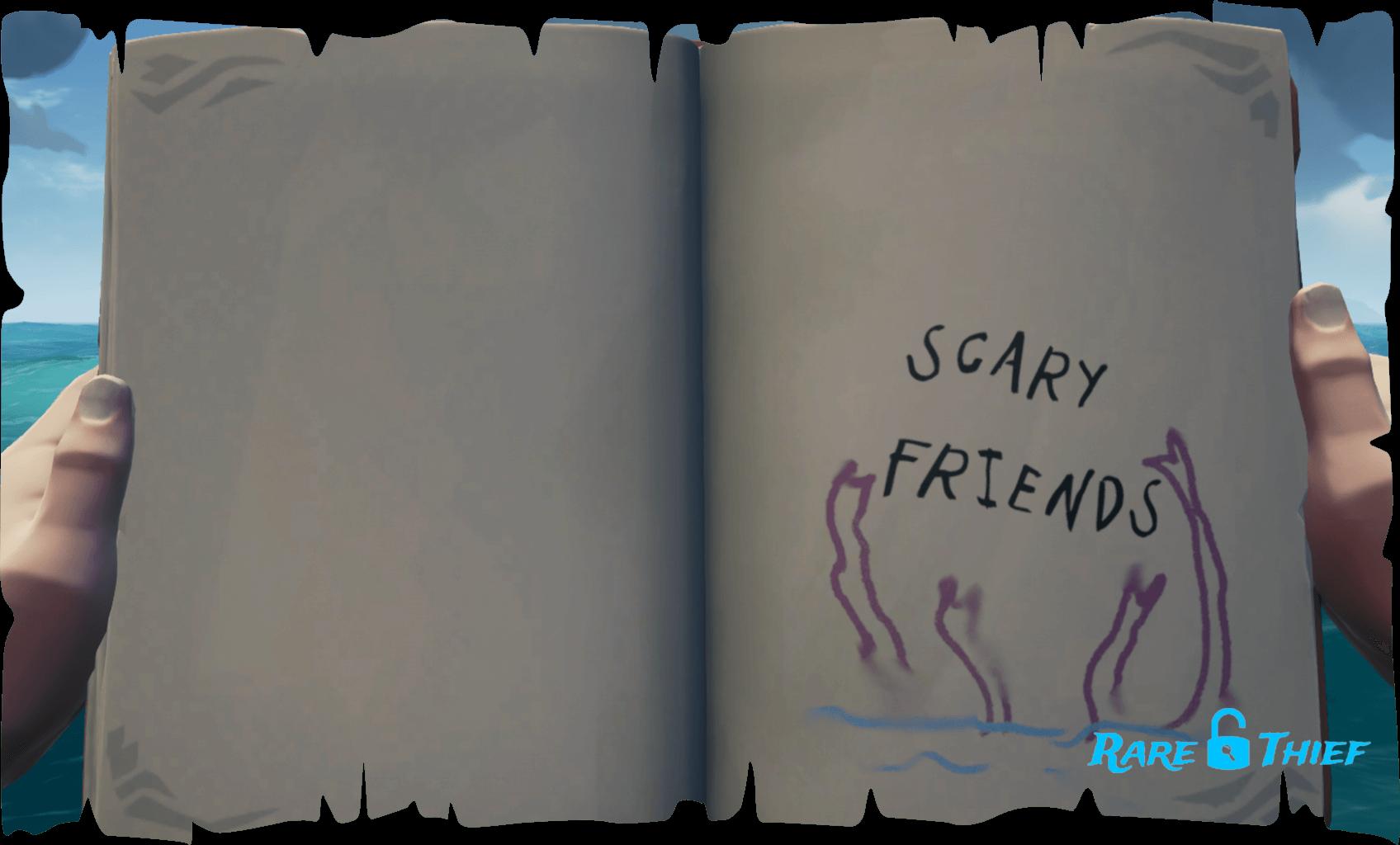 Legendary Storyteller Scary Friends