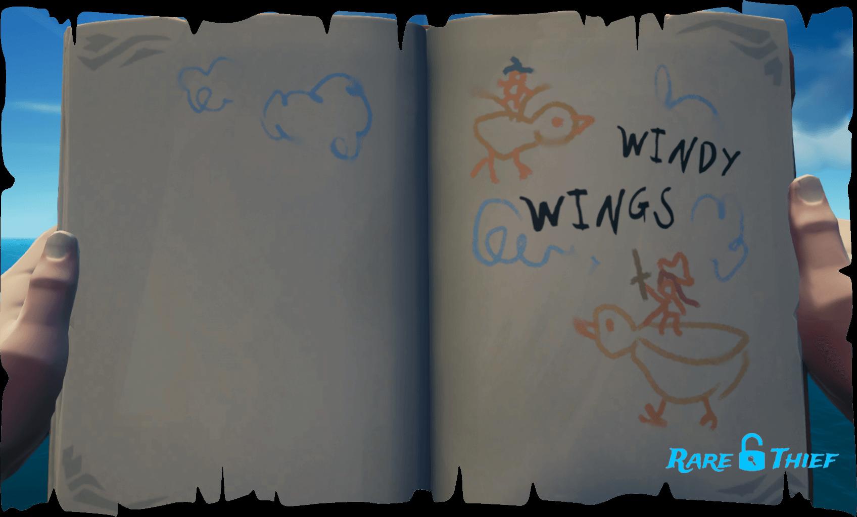 Legendary Storyteller Windy Wings