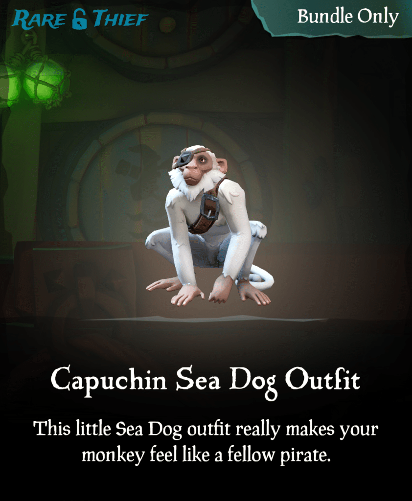 Capuchin Sea Dog Outfit