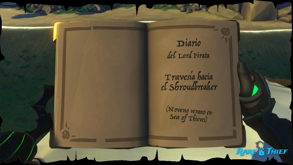 El Shroudbreaker, Diario del Lord Pirata