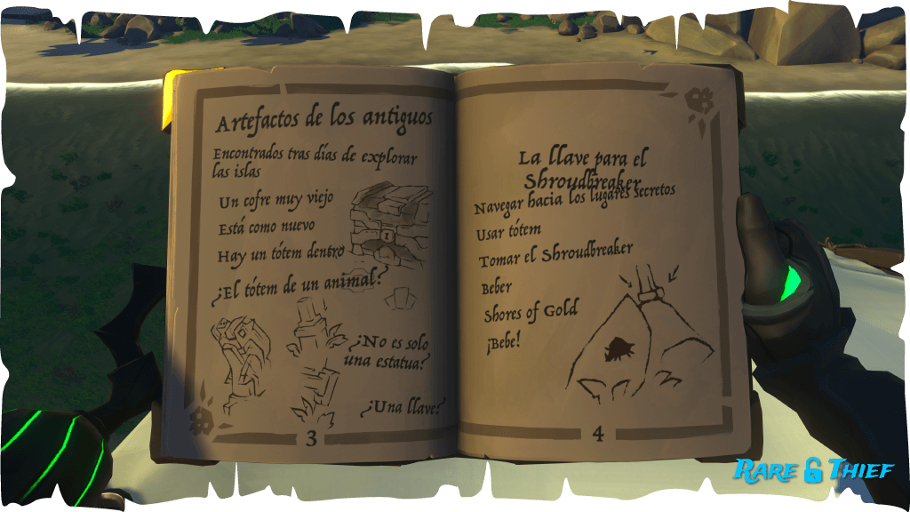 El Shroudbreaker, Diario del Lord Pirata 3-4